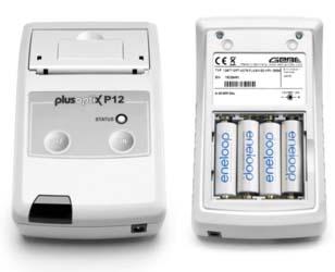 Принтер plusopiX P12 работает на стандартных аккумуляторах АА